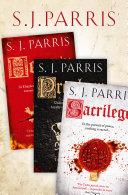Book Giordano Bruno Thriller Series Books 1 3  Heresy  Prophecy  Sacrilege