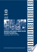 Making Land Rights More Secure