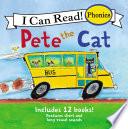 Pete The Cat 12 Book Phonics Fun