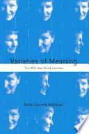 Varieties of Meaning