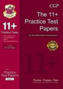 11  Practice Tests for the CEM Test   Pack 4