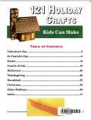 One Hundred Twenty One Holiday Crafts Kids Can Make