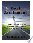 Goal Attainment Ebook
