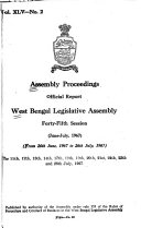 Assembly Proceedings