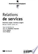 illustration Relations de services