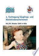 Vierte Fachtagung S  uglings   und Kleinkinderschwimmen