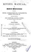 River S Manual Or Pastoral Instructions Upon The Creed