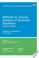 Methods for Solving Systems of Nonlinear Equations