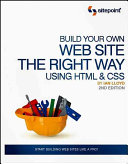 Build your own web site the right way using HTML   CSS