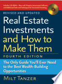 Real Estate Investments and How to Make Them  Fourth Edition