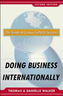 Doing Business Internationally  Second Edition  The Guide To Cross Cultural Success
