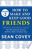 Decision  2  How to Make and Keep Good Friends