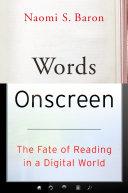 Words Onscreen