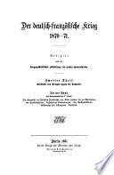 Der deutsch franzosische Krieg 1870 71