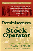 download ebook reminiscences of a stock operator pdf epub