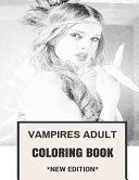 Vampires Adult Coloring Book