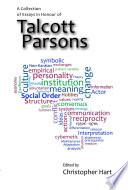 Essays in Honour of Talcott Parsons