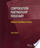 Corporation   Partnership   Fiduciary  2007