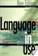 Language in Use Pre Intermediate Classroom Book