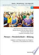 Person - Persönlichkeit - Bildung