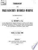 Uebersicht der Preussischen Handels-Marine