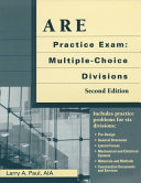 ARE Practice Exam  Multiple choice Divisions