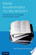 From Maimonides To Microsoft : and jurisprudence that developed in parallel with anglo-american...