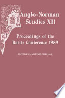 Anglo-Norman Studies XII