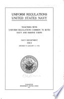 United States Navy Uniform Regulations