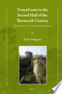Transylvania in the Second Half of the Thirteenth Century