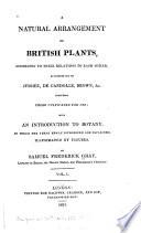 A Natural Arrangement of British Plants