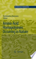 Amino Acid Homopolymers Occurring in Nature
