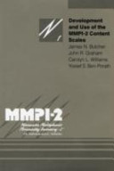 Development and Use of the MMPI-2 Content Scales