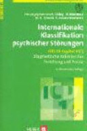 Internationale Klassifikation psychischer St  rungen