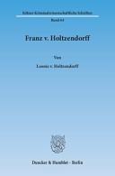 Franz v  Holtzendorff