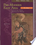 East Asia A Cultural Social And Political History Volume I To 1800