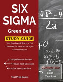 Six SIGMA Green Belt Study Guide