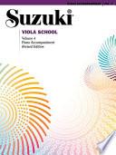 Suzuki Viola School   Volume 4