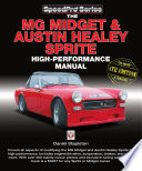 The MG Midget   Austin Healey Sprite High Performance Manual