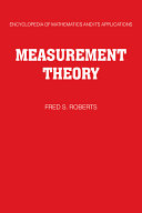 Measurement Theory  Volume 7