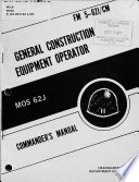 General Construction Equipment Operator