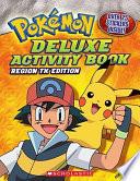 Deluxe Activity Book  Johto Edition