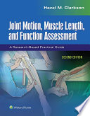 Joint Motion Muscle Length And Function Assessment