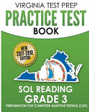 Virginia Test Prep Practice Test Book Sol Reading Grade 3