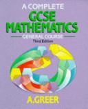 A Complete GCSE Mathematics