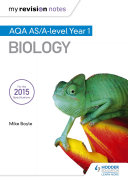 My Revision Notes  AQA AS Biology Second Edition