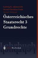 sterreichisches Staatsrecht