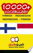 10000+ Finnish - Indonesian Indonesian - Finnish Vocabulary