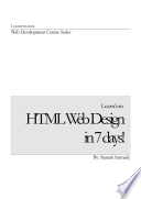 HTML Web Design in 7 Days