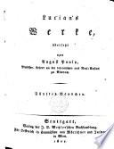 Lucian's (Annäus Seneca des Philosophen) Werke